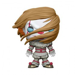 Figurine Pop Movie IT Pennywise with wig Edition Limitée Funko Boutique Geneve Suisse
