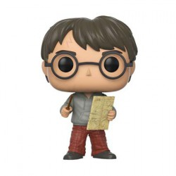 Figur Pop Harry Potter with Marauders Map Funko Geneva Store Switzerland