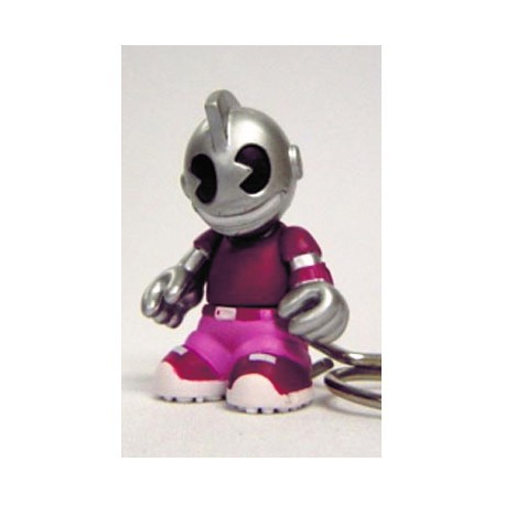 Figur Porte clés Kidbomber Violet by Tristan Eaton & Paul Budnitz Kidrobot Little Toys Geneva