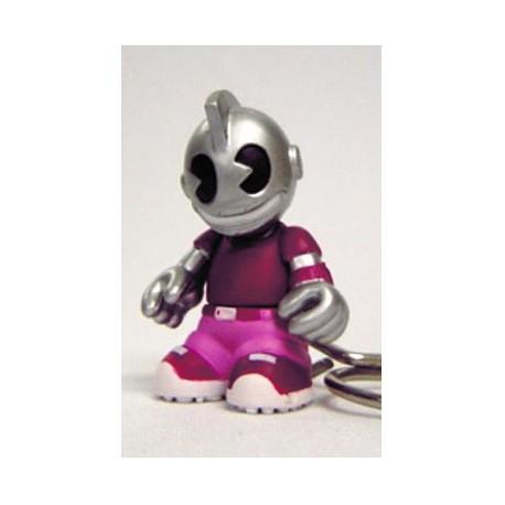 Figurine Porte clés Kidbomber Violet par Tristan Eaton & Paul Budnitz Kidrobot Boutique Geneve Suisse