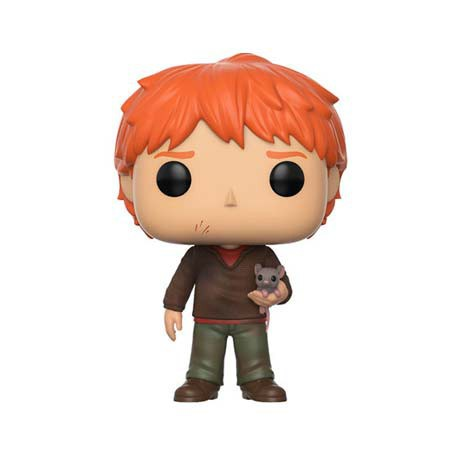 Figurine Pop Harry Potter Ron Weasley with Scabbers Funko Boutique Geneve Suisse