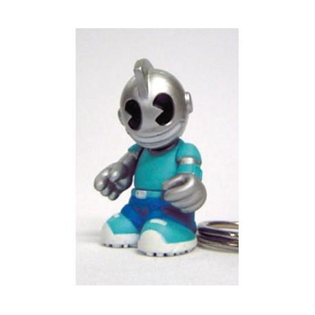 Figurine Porte clés Kidbomber Bleu par Tristan Eaton & Paul Budnitz Kidrobot Boutique Geneve Suisse