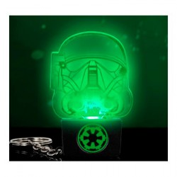 Figurine Star Wars Rogue One Death Trooper Lampe Porte Clé Paladone Boutique Geneve Suisse