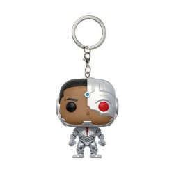 Figuren Pop Pocket Schlüsselanhänger Justice League Cyborg Funko Figuren Pop! Genf