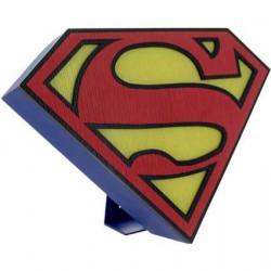 Figurine Lampe Led Logo Superman Précommande Geneve