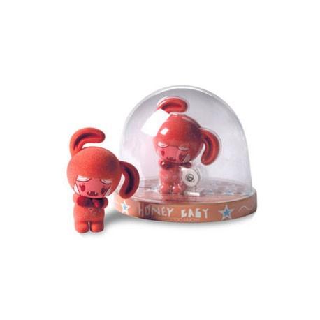 Figurine Honey Baby Rouge par Garythinking Petites figurines Geneve