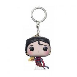 Figuren Pop Pocket Schlüsselanhänger Disney Princess Mulan Funko Genf Shop Schweiz