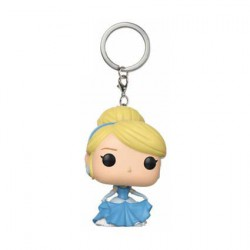 Figurine Pop Pocket Porte-clés Disney Princess Cinderella Funko Boutique Geneve Suisse