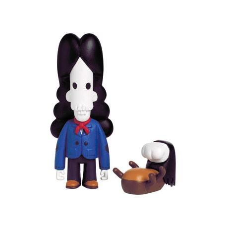 Figurine Ambrose et Scratch par Pete Fowler Playbeast Boutique Geneve Suisse