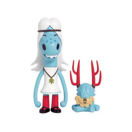 Figurine Hattie et Mr Pasty par Pete Fowler Playbeast Boutique Geneve Suisse
