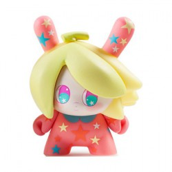 Figurine Dunny Designer Toy Awards Banana Mango Alt Colorway par So Youn Lee Kidrobot Boutique Geneve Suisse