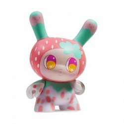 Figur Designer Toy Awards Dunny Strawberry Mango by So Youn Lee Kidrobot Geneva Store Switzerland