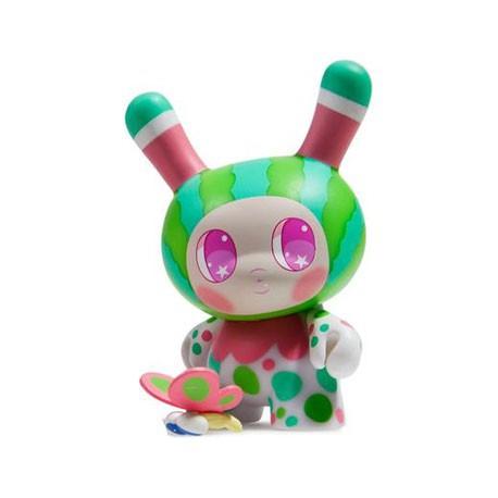Figurine Dunny Designer Toy Awards Watermelon Mango par So Youn Lee Kidrobot Designer Toys Geneve
