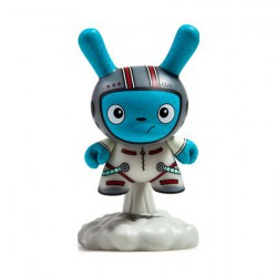 Figur Designer Toy Awards Dunny Blast Off Alt Colorway by The Bots Kidrobot Designer Toys Geneva