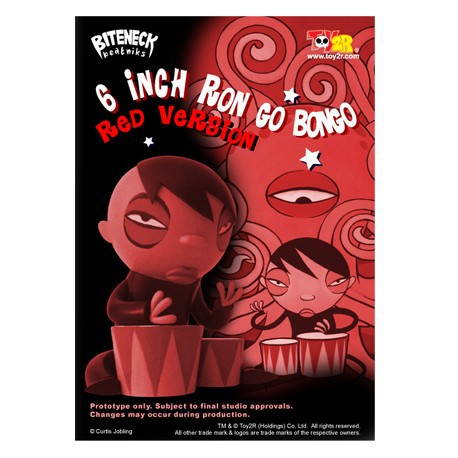 Figur Ron Go Bongo Rouge 16 cm by Curtis Jobling Kidrobot Geneva Store Switzerland
