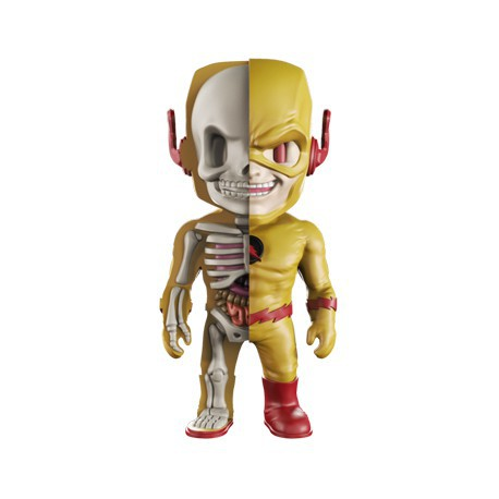 Figurine DC Comics Reverse Flash X-Ray par Jason Freeny Mighty Jaxx Boutique Geneve Suisse