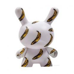 Figurine Dunny Série 2 Banana par la Fondation Andy Warhol Kidrobot Boutique Geneve Suisse