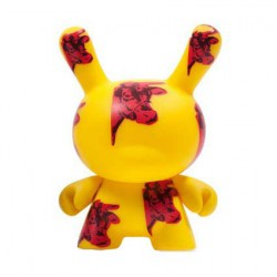 Figur Dunny Series 2 Cow by the Andy Warhol Foundation Kidrobot Designer Toys Geneva