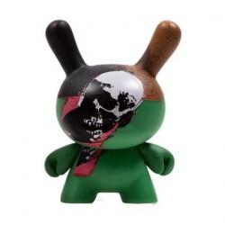 Figuren Dunny Serie 2 Skull von der Andy Warhol Foundation Kidrobot Designer Toys Genf