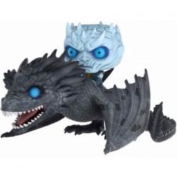 Figuren Pop Rides Game of Thrones Phosphoreszierend Night King with Icy Viserion Funko Figuren Pop! Genf