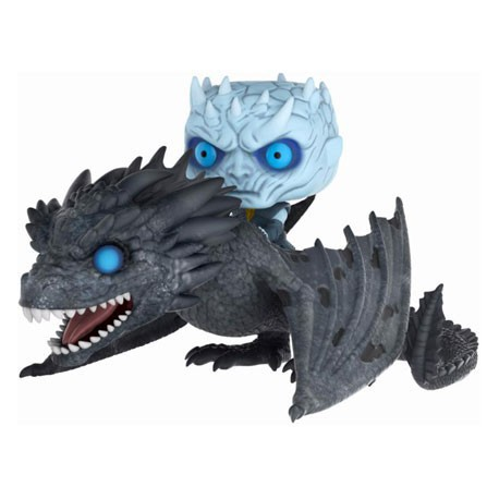 Figur Pop Rides Game of Thrones Glow in the Dark Night King with Icy Viserion Funko Geneva Store Switzerland