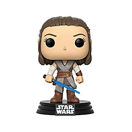 Figurine Pop Phosphorescent Star Wars The Last Jedi Rey Funko Boutique Geneve Suisse
