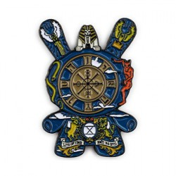 Figuren Pins Dunny Arcane Divination The Wheel of Fortune von J*RYU Kidrobot Designer Toys Genf