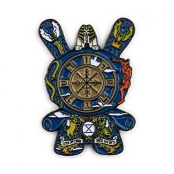 Figur Pins Dunny Arcane DivinationThe Wheel of Fortune by J*RYU Kidrobot Designer Toys Geneva