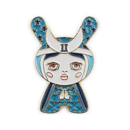 Figurine Pins Dunny Arcane Divination The High Priestess par Camilla D'Errico Kidrobot Designer Toys Geneve