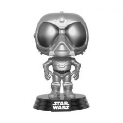 Figurine Pop NYCC 2017 Star Wars Rogue One Chromed Death Star Droid Edition Limitée Funko Figurines Pop! Geneve
