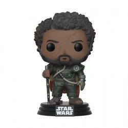 Figurine Pop NYCC 2017 Star Wars Rogue One Saw Gerrera with Hair Edition Limitée Funko Boutique Geneve Suisse