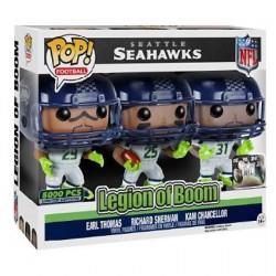 Figurine Pop NFL Seattle Seahawks Legion of Boom Edition Limitée Funko Boutique Geneve Suisse