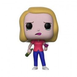 Figuren Pop Rick and Morty Beth with Wine Glass Funko Figuren Pop! Genf