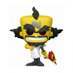 Figurine Pop Games Crash Bandicoot Neo Cortex (Rare) Funko Boutique Geneve Suisse