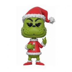Figurine Pop Movie The Grinch Santa Grinch (Rare) Funko Figurines Pop! Geneve