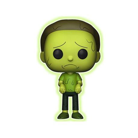 Figurine Pop Rick et Morty Toxic Morty Phosphorescent Edition Limitée Funko Boutique Geneve Suisse