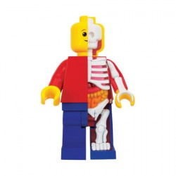 Figurine Lego 28 cm Bigger Micro Anatomic Junior par Jason Freeny Mighty Jaxx Boutique Geneve Suisse