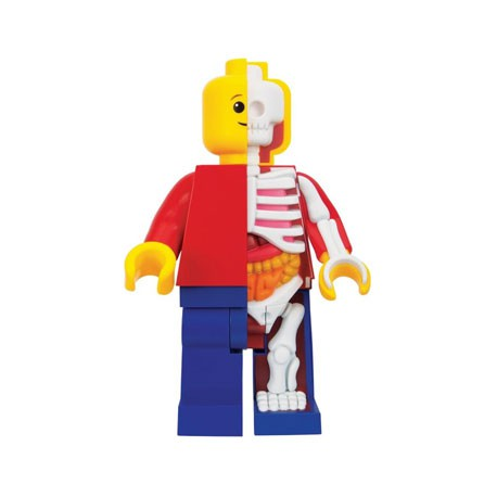 Figurine Lego 28 cm Bigger Micro Anatomic Junior par Jason Freeny Mighty Jaxx Boutique Geneve Suisse