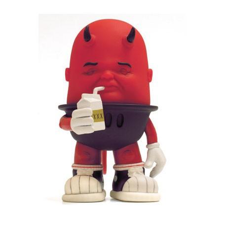 Figuren Luey Drinking Red von Bob Dob Strangeco Grosse Figuren Genf