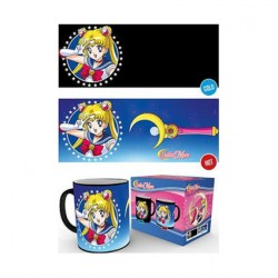 Figurine Tasse Sailor Moon Change avec la Chaleur Boutique Geneve Suisse