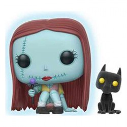 Figuren Pop Disney Sally Seated GITD With Flocked Cat Limitierte Auflage Funko Genf Shop Schweiz