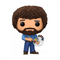 Figuren Pop TV Bob Ross Flockiert Limitierte Auflage Funko Figuren Pop! Genf