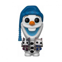 Figuren Pop Disney Olaf Frozen Adventure Olaf with Cats (Rare) Funko Figuren Pop! Genf