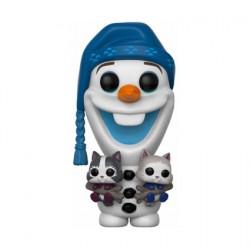 Figurine Pop Disney Olaf Frozen Adventure Olaf with Cats (Rare) Funko Boutique Geneve Suisse