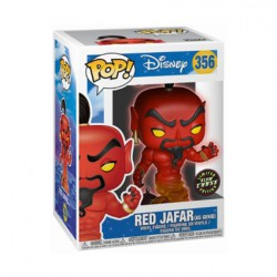 Figurine Pop Phosphorescent Disney Aladdin Red Jafar Chase Edition Limitée Funko Boutique Geneve Suisse