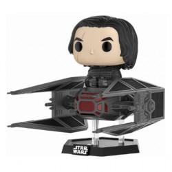 Figurine Pop Deluxe Star Wars The Last Jedi Kylo Ren sur TIE Fighter Funko Boutique Geneve Suisse