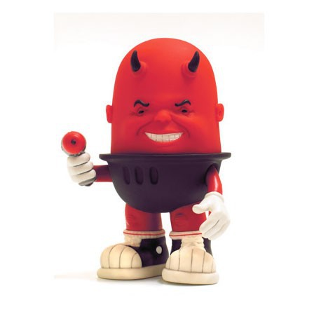 Figurine Luey Raging Red par Bob Dob Strangeco Boutique Geneve Suisse