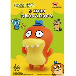 Figurine Crocadoca par David Horvath Toy2R Boutique Geneve Suisse