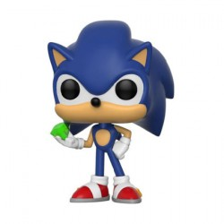 Figurine Pop Games Sonic Sonic with Emerald Funko Boutique Geneve Suisse