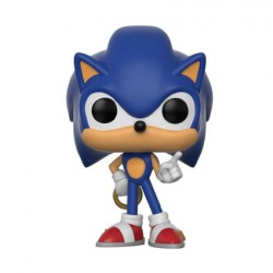 Figurine Pop Games Sonic Sonic with Ring Funko Boutique Geneve Suisse
